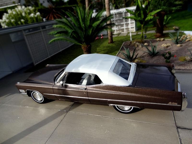 1968 Cadillac Convertible Moka Cappuccino (restauration)  1421