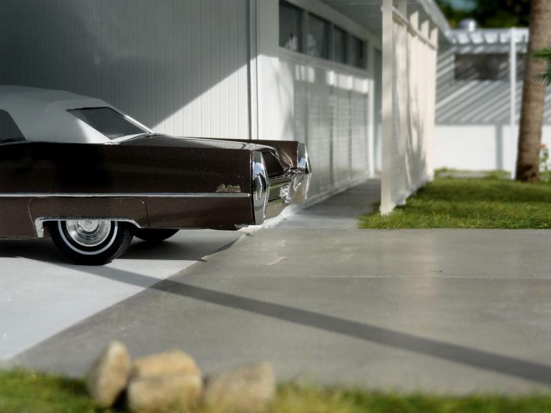 1968 Cadillac Convertible Moka Cappuccino (restauration)  1719