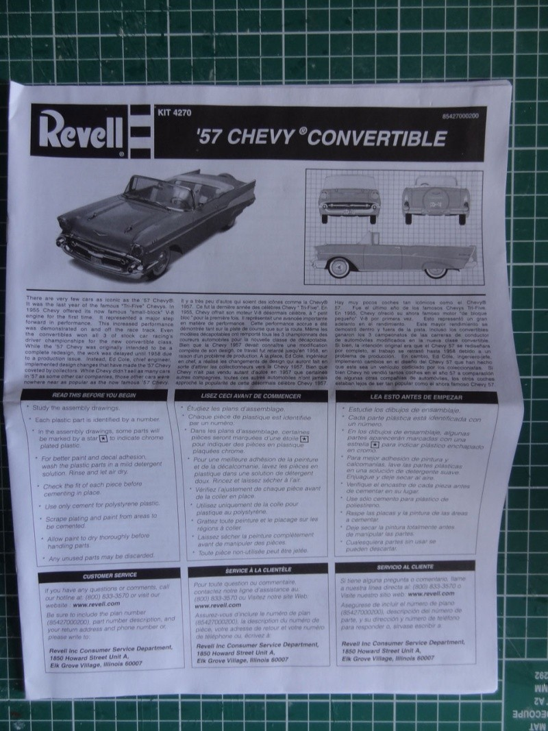 Revell 1957 Chevy Bel Air Convertible 224