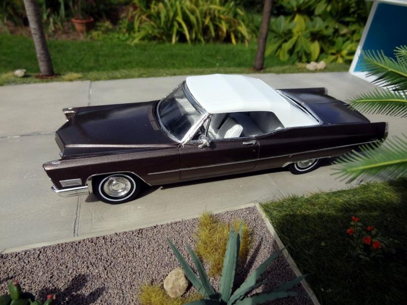 1968 Cadillac Convertible Moka Cappuccino (restauration)  225