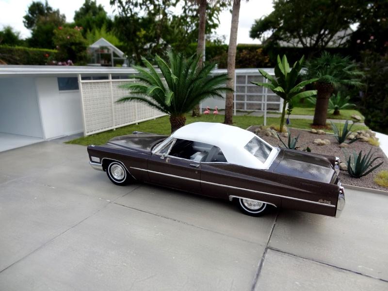 1968 Cadillac Convertible Moka Cappuccino (restauration)  424
