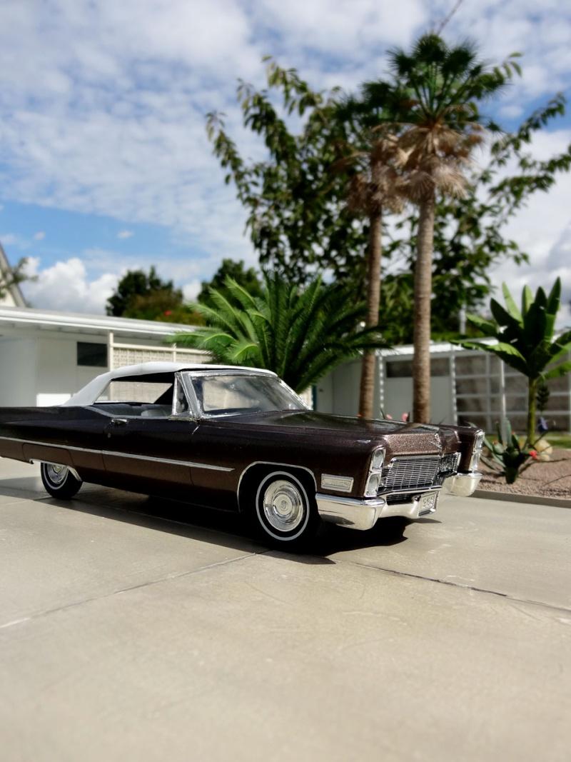 1968 Cadillac Convertible Moka Cappuccino (restauration)  525
