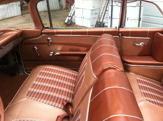 1959 Impala convertible WIP 59chev10