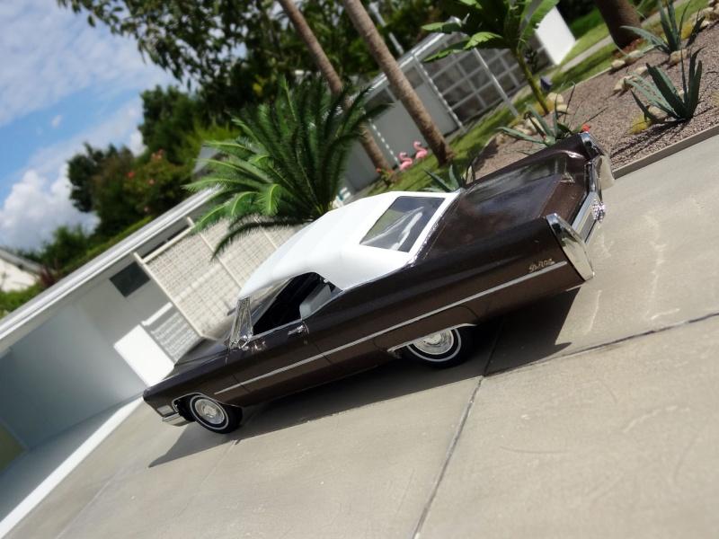 1968 Cadillac Convertible Moka Cappuccino (restauration)  625