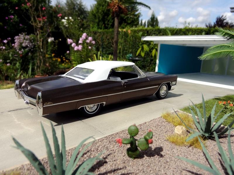 1968 Cadillac Convertible Moka Cappuccino (restauration)  723