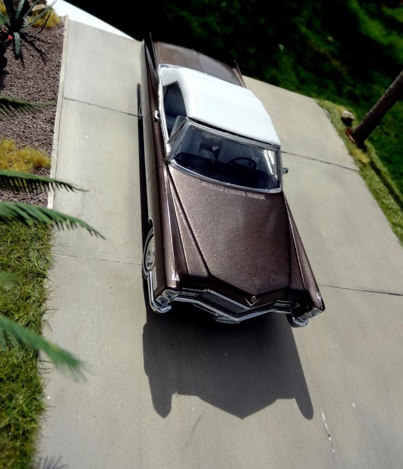 1968 Cadillac Convertible Moka Cappuccino (restauration)  823