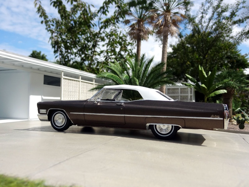1968 Cadillac Convertible Moka Cappuccino (restauration)  921