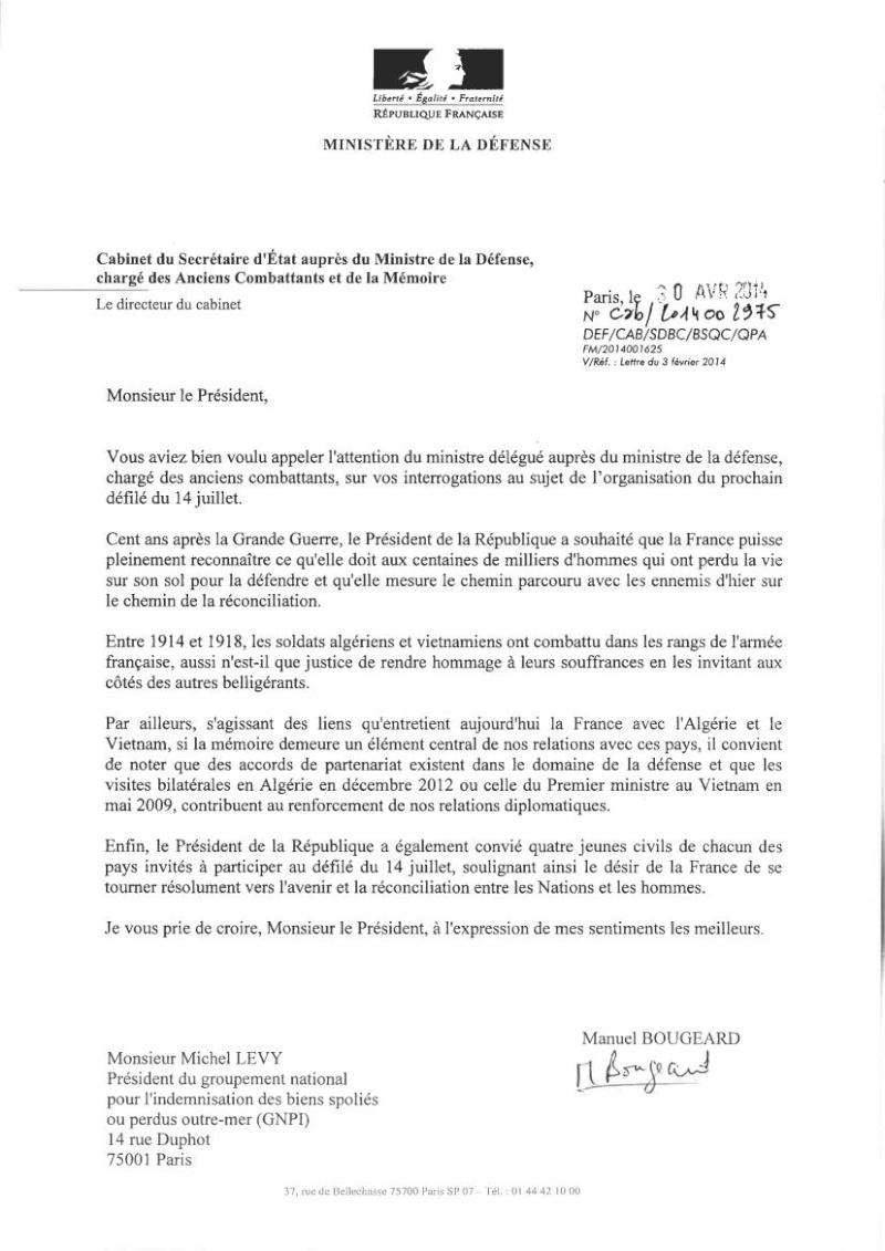 DEFILE du FLN aux Champs-ELYSEES en juillet 2014: UNE INSULTE AUX MILLIERS DE HARKIS ET LEURS FAMILLES, PIEDS NOIRS,  MILITAIRES FRANCAIS MORTS EN ALGERIE.   Dbp_de12