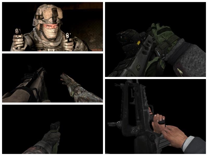 MW2 Scar-H, Tavor-21, G-18, Famas [Mini Pack] 110