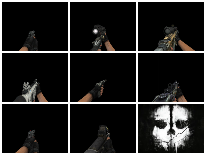 CoD Ghosts Weapon Pack Fotor013
