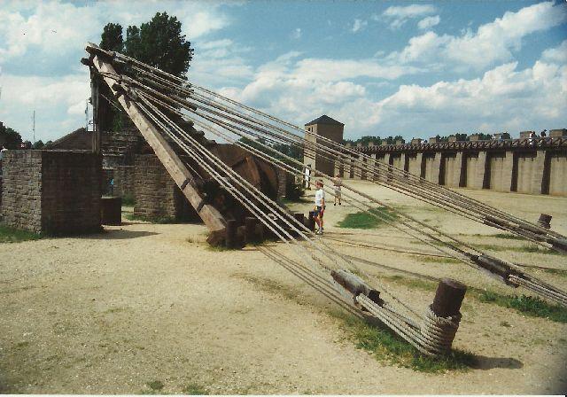 """Archäologischer Park in Xanten - ein """"römischer"""" Rundgang im Mai 1993 1012"""