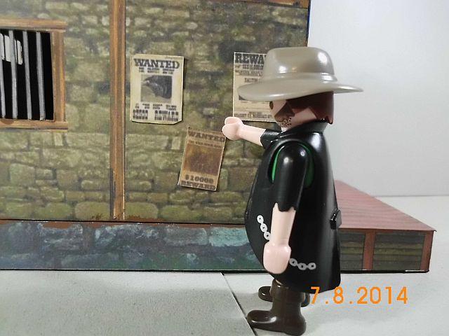 Sheriffbüro + Gefängnis von Papermau - Fertig und Galerie 10b10