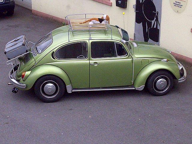 """VW 1302 """"Käfer"""" """"Auf dem Parkplatz schnappgeschossen""""  1110"""