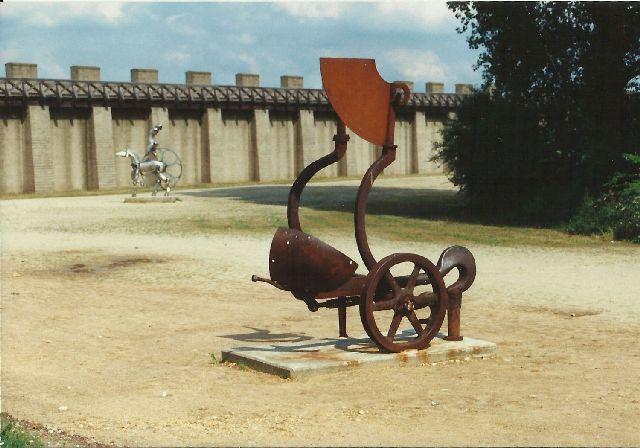 """Archäologischer Park in Xanten - ein """"römischer"""" Rundgang im Mai 1993 1112"""