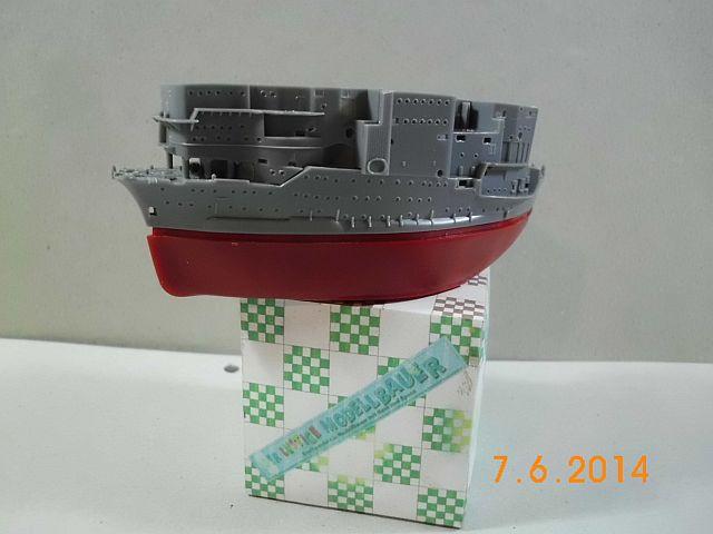 Fujimi 42168 - Egg-Ship IJN Akagi - Fertig 115