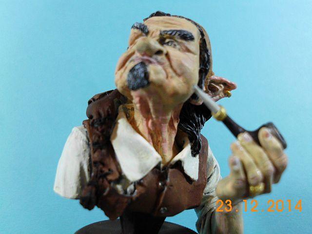 War Griffon Miniatures - Old Gnome - 50mm Büste - Galerie 1167