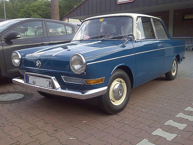 """BMW 700 - """"Auf dem Parkplatz schnappgeschossen""""  117"""