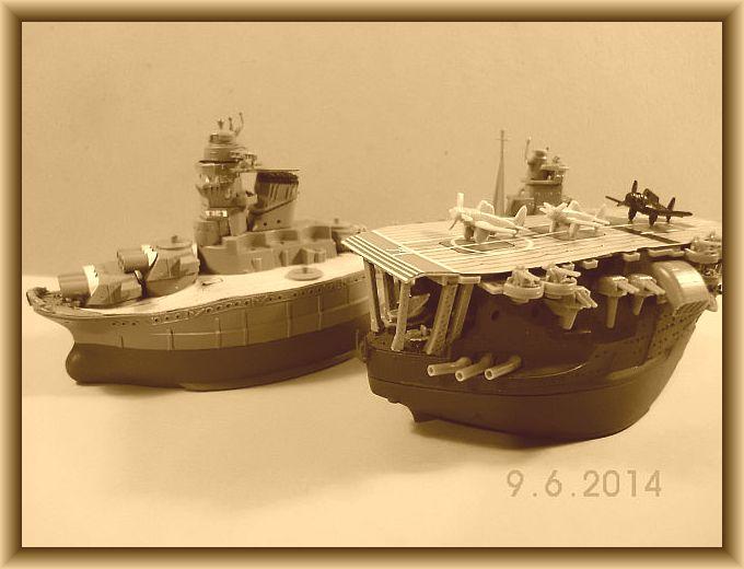 Fujimi 42168 - Egg-Ship IJN Akagi - Fertig 119