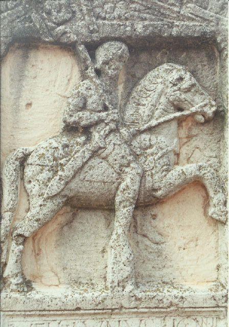"""Archäologischer Park in Xanten - ein """"römischer"""" Rundgang im Mai 1993 1211"""