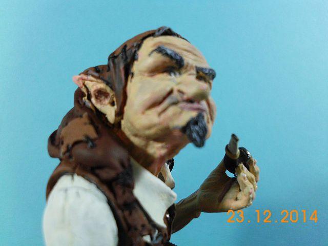 War Griffon Miniatures - Old Gnome - 50mm Büste - Galerie 1216