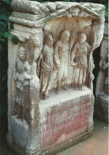 """Archäologischer Park in Xanten - ein """"römischer"""" Rundgang im Mai 1993 1310"""