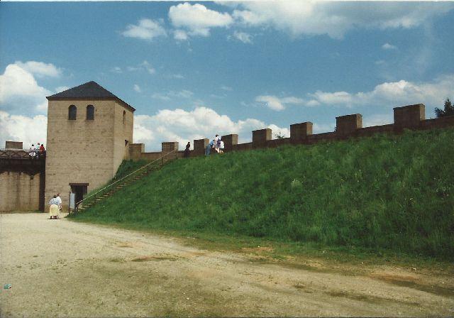 """Archäologischer Park in Xanten - ein """"römischer"""" Rundgang im Mai 1993 133"""