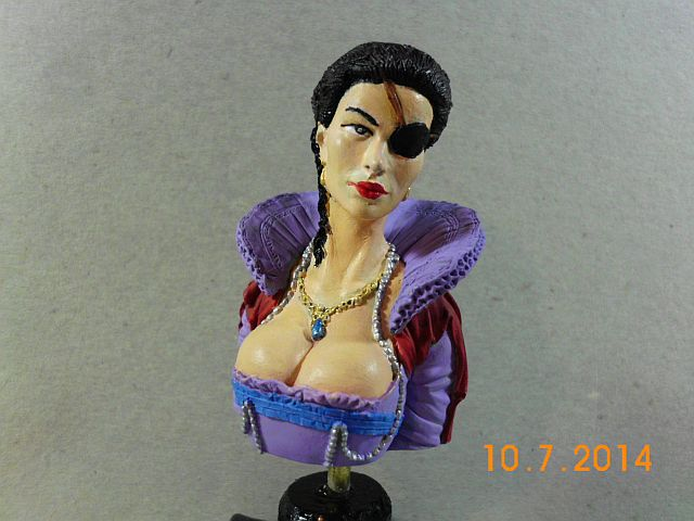 EVD CB30 - Princesa de Eboli - Resinbüste in 1/10 - Galerie 139