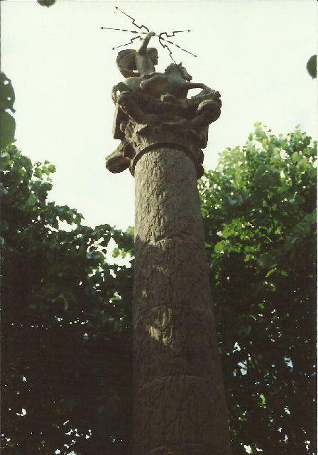"""Archäologischer Park in Xanten - ein """"römischer"""" Rundgang im Mai 1993 1411"""