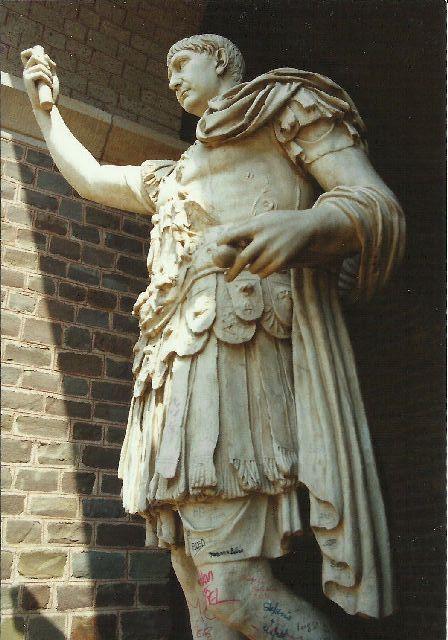 """Archäologischer Park in Xanten - ein """"römischer"""" Rundgang im Mai 1993 1611"""