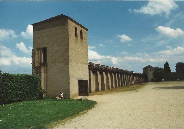 """Archäologischer Park in Xanten - ein """"römischer"""" Rundgang im Mai 1993 1711"""
