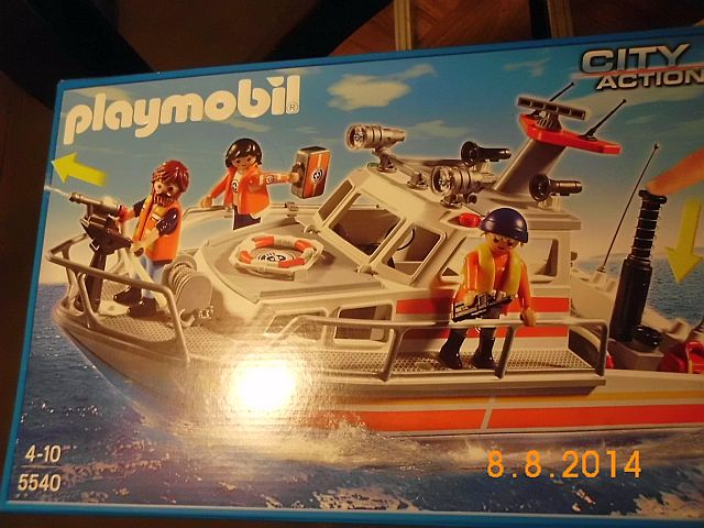 Just for Fun - Playmobil Rettungskreuzer  173