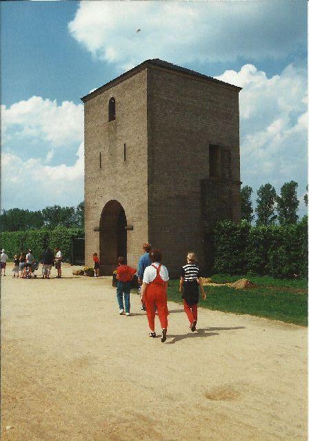 """Archäologischer Park in Xanten - ein """"römischer"""" Rundgang im Mai 1993 1911"""