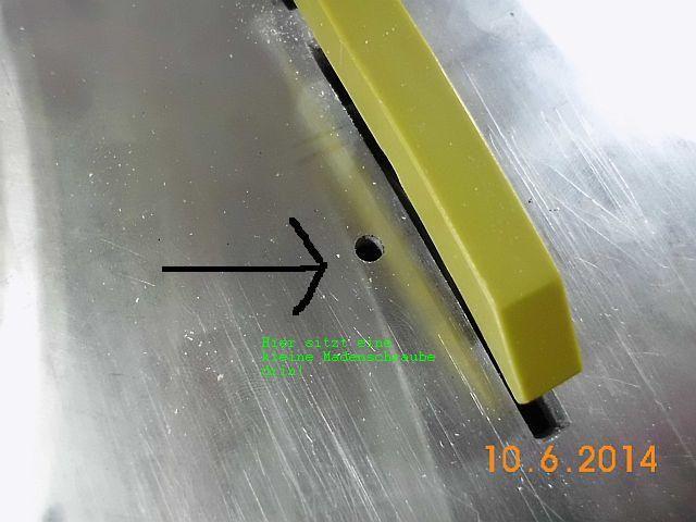 Proxxon Kreissäge KS 230 - Wartungstip - Spindel / Zahnriemenhaltung 1_schr10