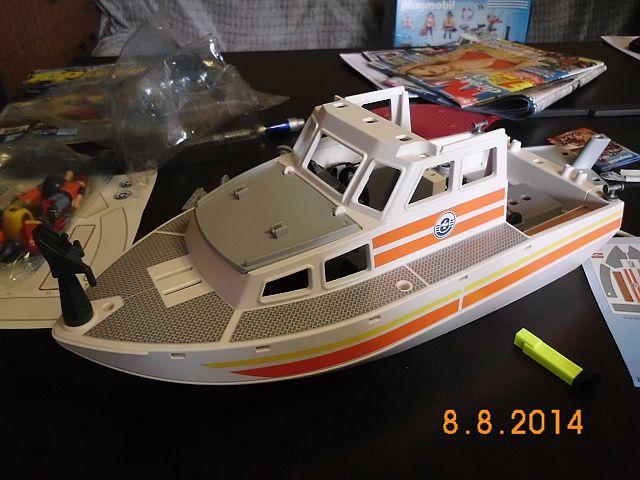 Just for Fun - Playmobil Rettungskreuzer  1c10