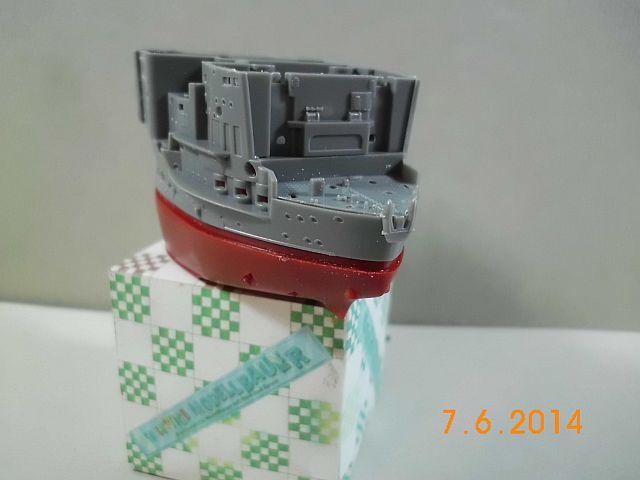 Fujimi 42168 - Egg-Ship IJN Akagi - Fertig 214