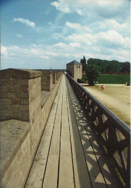 """Archäologischer Park in Xanten - ein """"römischer"""" Rundgang im Mai 1993 230"""