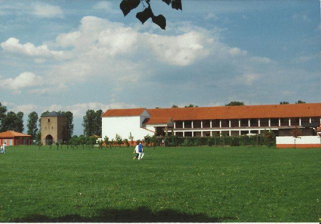 """Archäologischer Park in Xanten - ein """"römischer"""" Rundgang im Mai 1993 2310"""