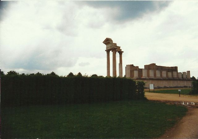 """Archäologischer Park in Xanten - ein """"römischer"""" Rundgang im Mai 1993 2510"""