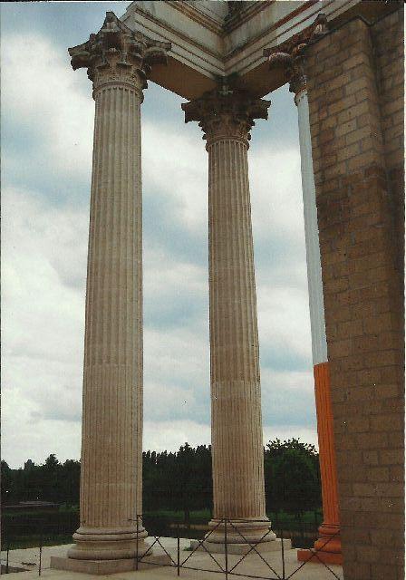 """Archäologischer Park in Xanten - ein """"römischer"""" Rundgang im Mai 1993 2610"""