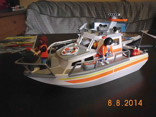 Just for Fun - Playmobil Rettungskreuzer  264