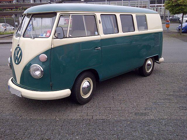 "VW Bus T1 - ""Auf dem Parkplatz schnappgeschossen""  310"