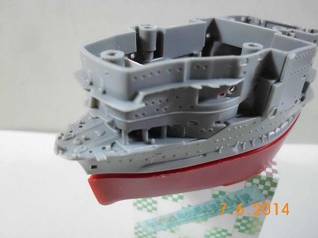 Fujimi 42168 - Egg-Ship IJN Akagi - Fertig 314