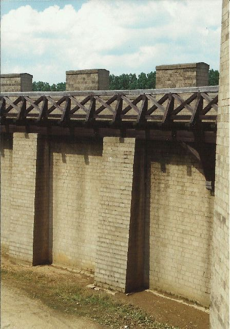"""Archäologischer Park in Xanten - ein """"römischer"""" Rundgang im Mai 1993 328"""
