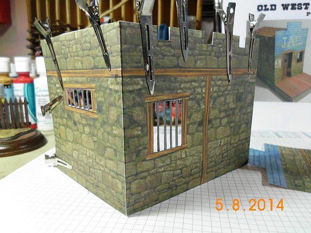 Sheriffbüro + Gefängnis von Papermau - Fertig und Galerie 349