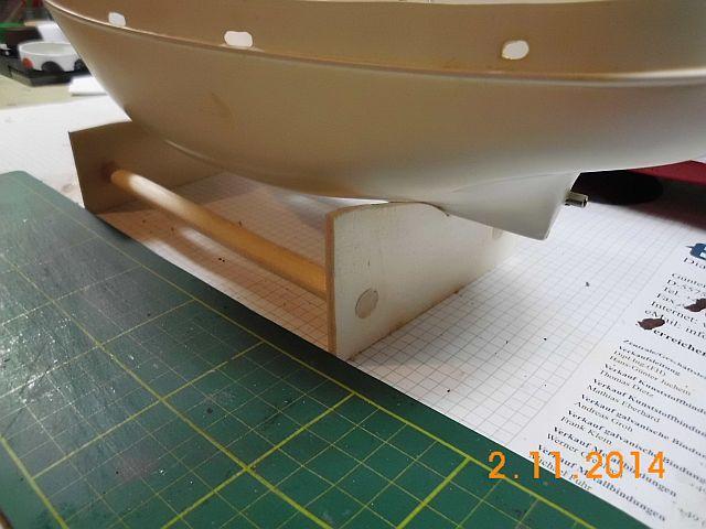 (Weiter-)Baubericht Graupner Anja SL35 1/60 394