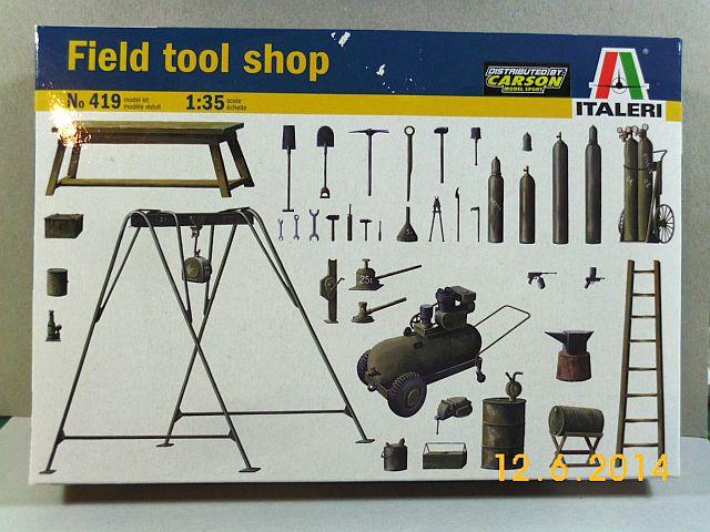 Italerie 419 - Field Tool Shop 1/35 - Vorstellung 3_ital10