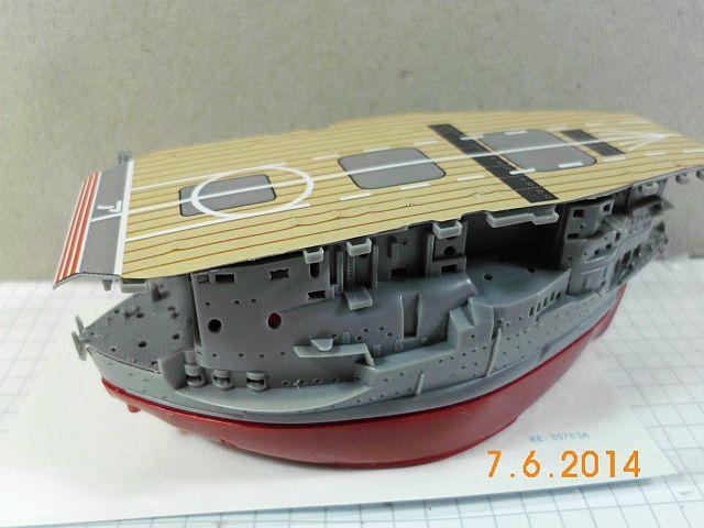 Fujimi 42168 - Egg-Ship IJN Akagi - Fertig 413