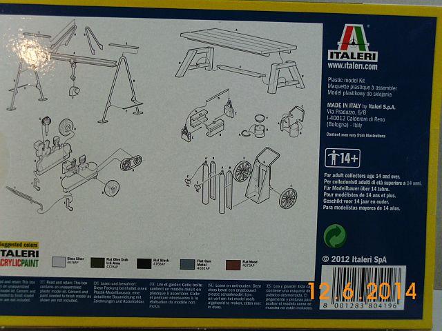 Italerie 419 - Field Tool Shop 1/35 - Vorstellung 418