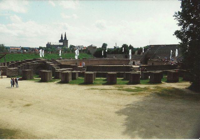"""Archäologischer Park in Xanten - ein """"römischer"""" Rundgang im Mai 1993 424"""