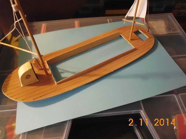 (Weiter-)Baubericht Graupner Anja SL35 1/60 479